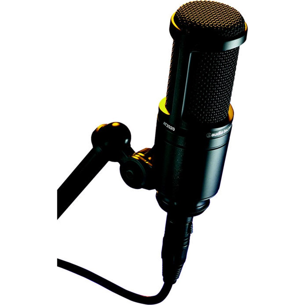 Audio Technica AT2020 Cardioid Condenser Microphone ...