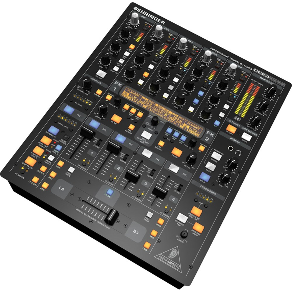 behringer ddm4000 digital dj mixer w fx midi dj mixers store dj. Black Bedroom Furniture Sets. Home Design Ideas