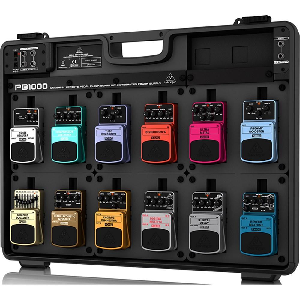 behringer pb1000 effects pedal floor board guitar pedals effects store dj. Black Bedroom Furniture Sets. Home Design Ideas