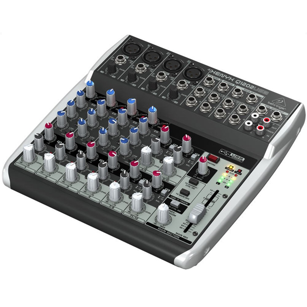 behringer xenyx q1202usb 12 input mic line mixer w usb analogue mixers store dj. Black Bedroom Furniture Sets. Home Design Ideas