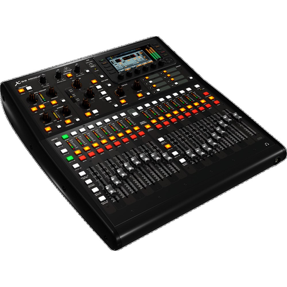 how to connect dlive console with x32 mixer
