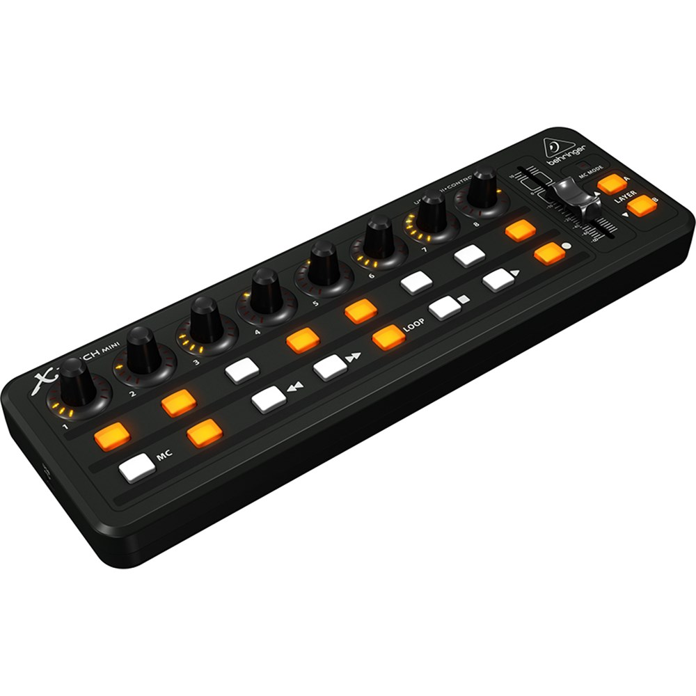 behringer x touch mini ultra compact universal usb controller midi controllers store dj. Black Bedroom Furniture Sets. Home Design Ideas