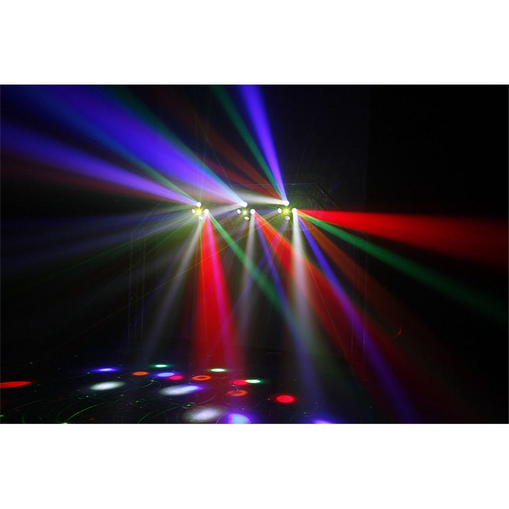 CR Fusion LED Effect Light Red Green Laser And Strobe Disco Lighting Effec