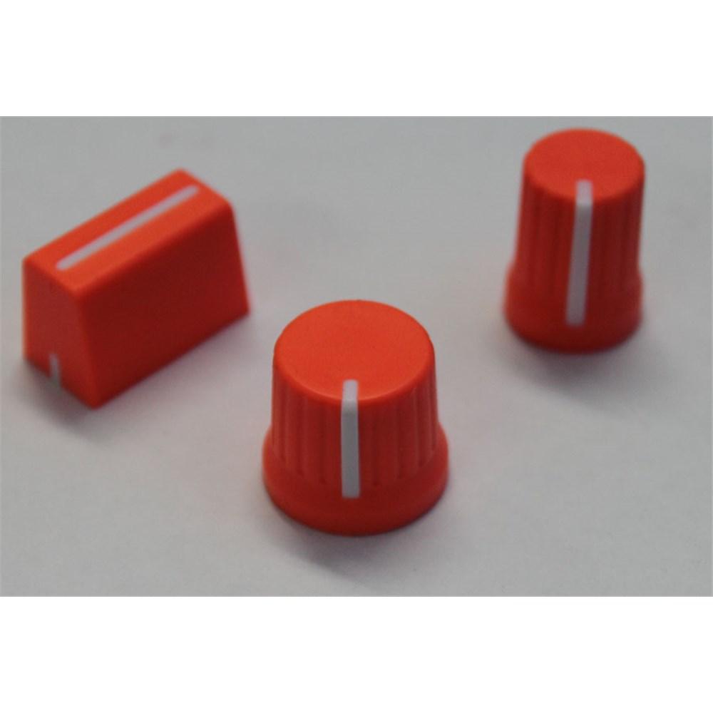 Chroma Caps Pack For Ni Kontrol S4 Neon Orange Faders