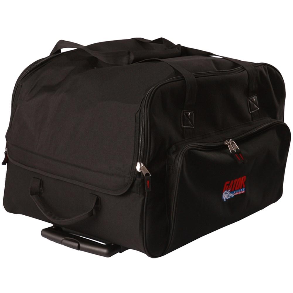 gator gpa 712lg speaker bag on wheels large 12 speaker. Black Bedroom Furniture Sets. Home Design Ideas