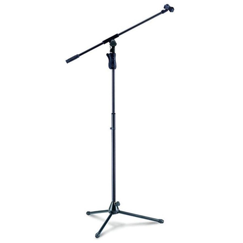 hercules ms631b mic stand w boom microphone stands store dj. Black Bedroom Furniture Sets. Home Design Ideas
