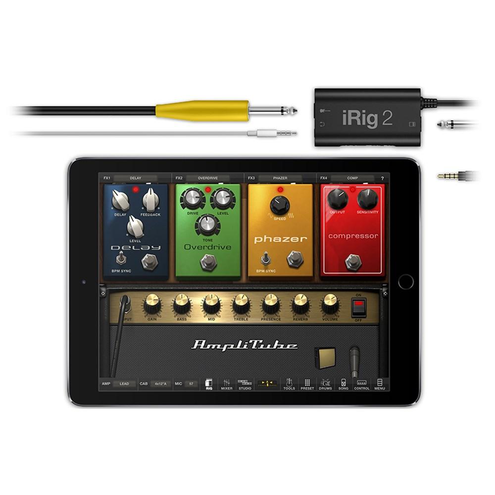 ik multimedia irig2 guitar interface for ipad iphone ios audio interfaces store dj. Black Bedroom Furniture Sets. Home Design Ideas