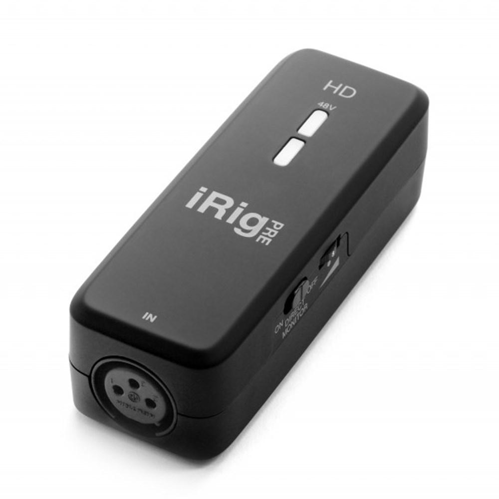 ik multimedia irig pre hd digital microphone interface w class a preamp ios audio interfaces. Black Bedroom Furniture Sets. Home Design Ideas