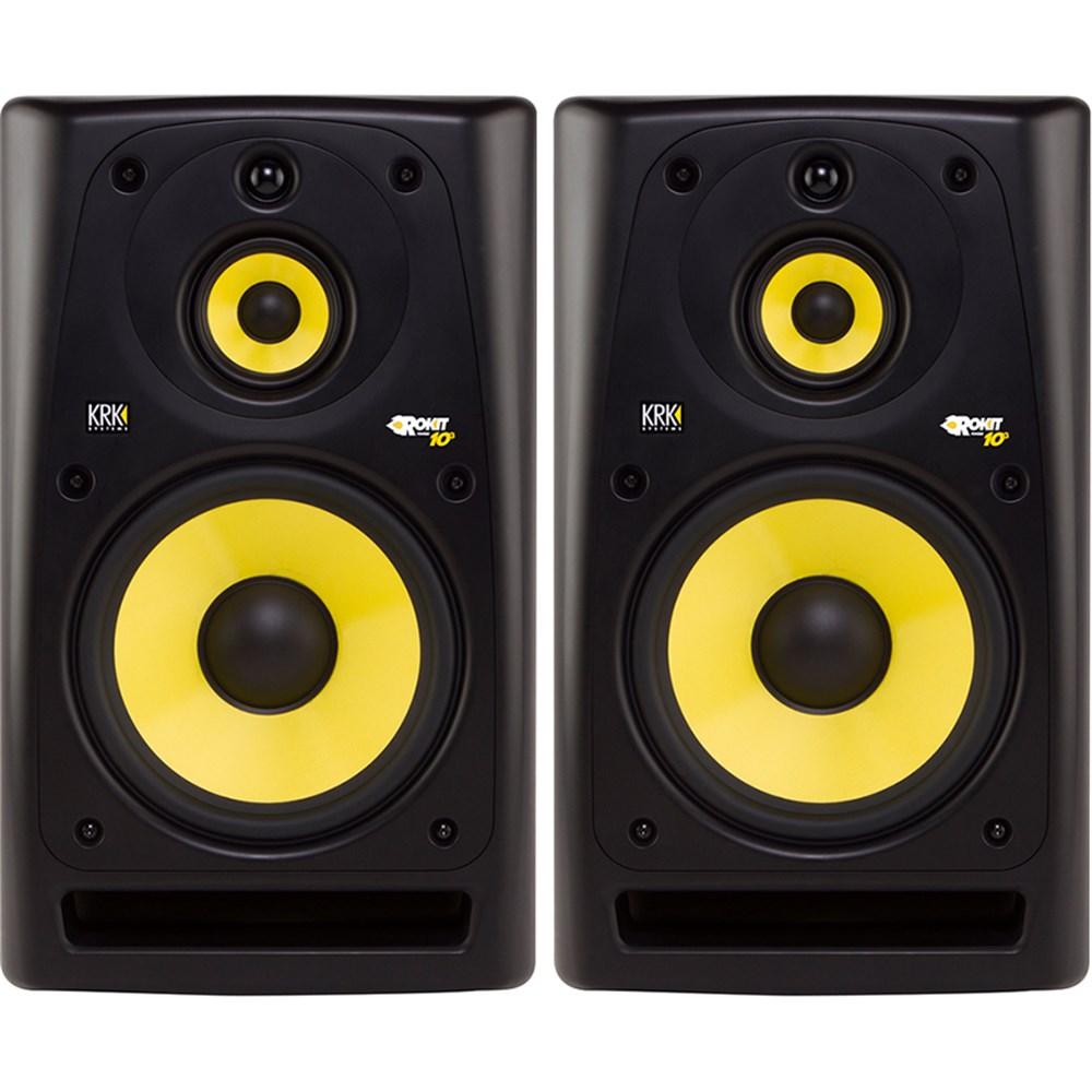Krk Rp10 3 G3 10 Quot 3 Way Studio Monitors Black Pair