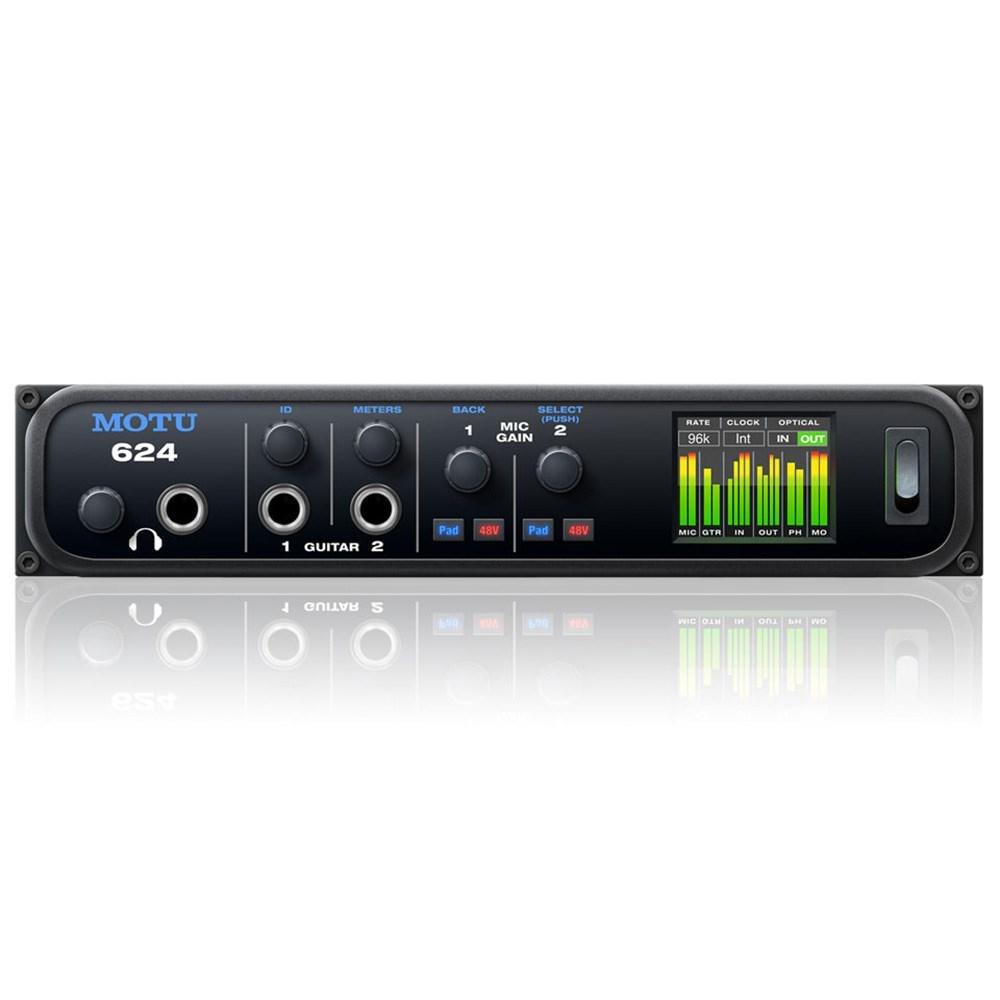 MOTU 624 16x16 Thunderbolt, USB3 & AVB Audio Interface w ...