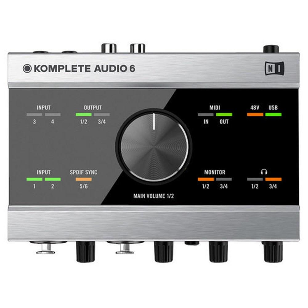 native instruments komplete audio 6 plus komplete elements usb audio interfaces store dj. Black Bedroom Furniture Sets. Home Design Ideas