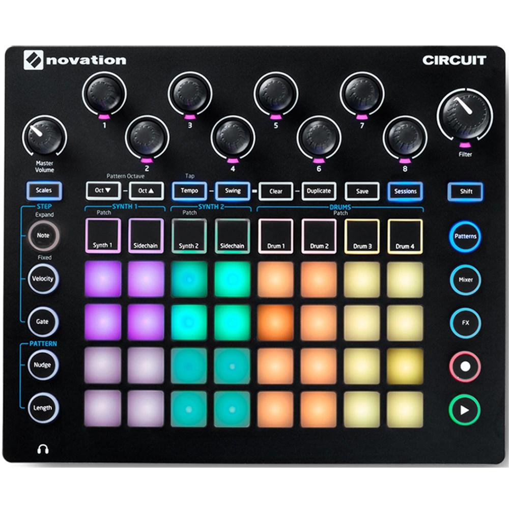Novation Launchpad MINI Mk2 USB MIDI Controller w/ Ableton Live Lite