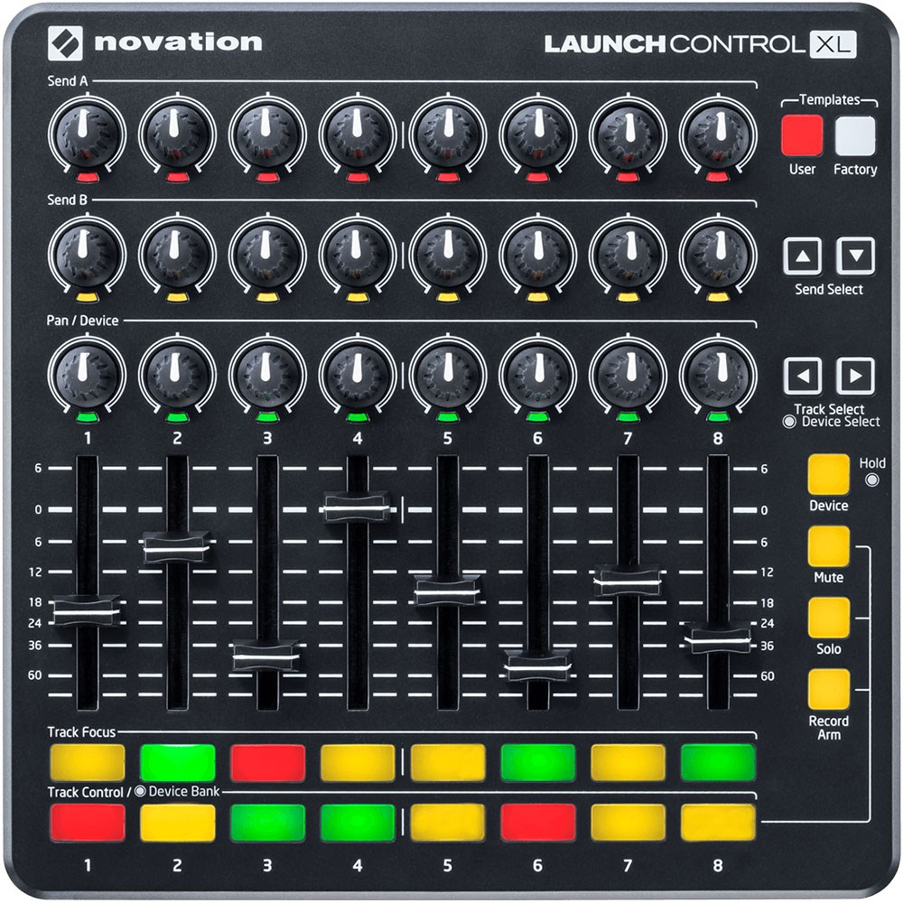 Novation Launch Control Xl Midi Controller W Faders
