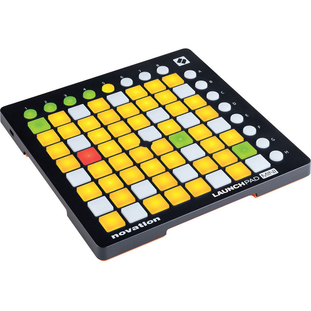 novation launchpad mini mk2 usb midi controller w ableton live lite groove production store dj. Black Bedroom Furniture Sets. Home Design Ideas