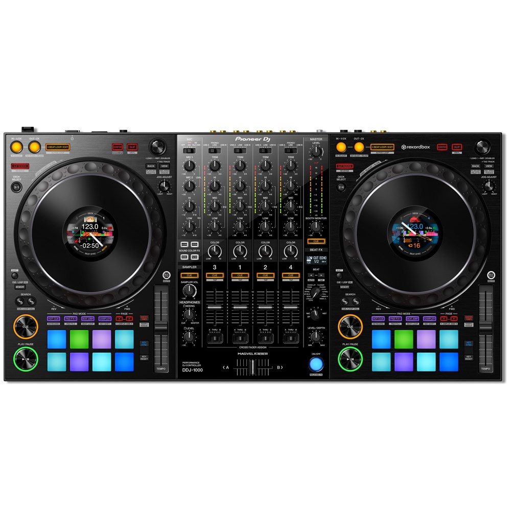b1c303bd06f Pioneer DDJ1000 4 Channel Rekordbox DJ Controller w/ Jog Display &  Performance Pads