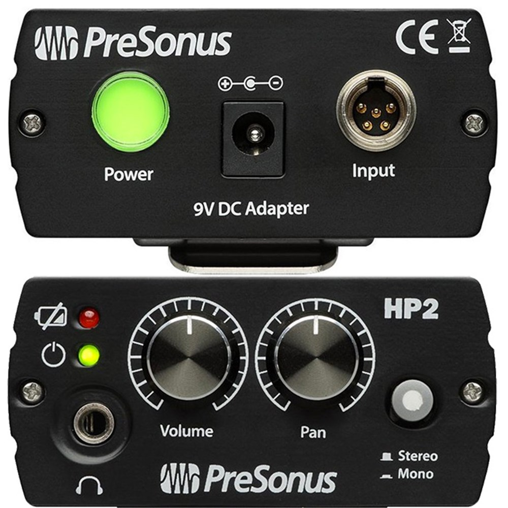 Presonus Hp2 2 Channel Headphone Amplifier Amps Dacs Stereo Volume Control In Electrical Engineering