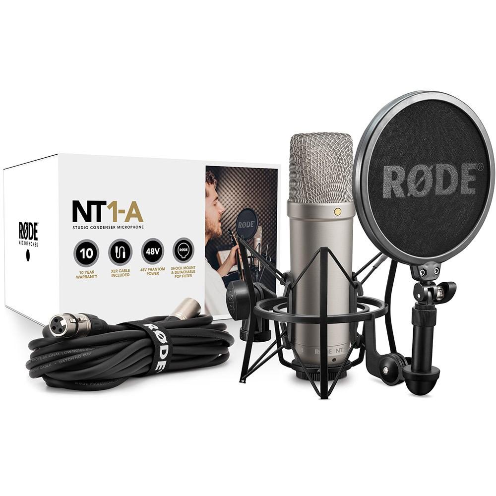 "Rode NT1-A 1"" Cardioid Condenser Microphone | Condenser ..."