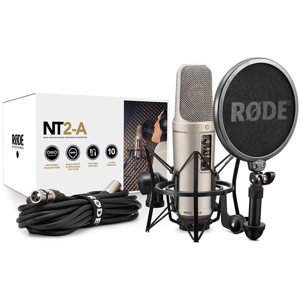 Microphones Store Dj Multidirectional Microphone Amplifier Rode Nt2 A Multi Pattern Dual 1 Condenser