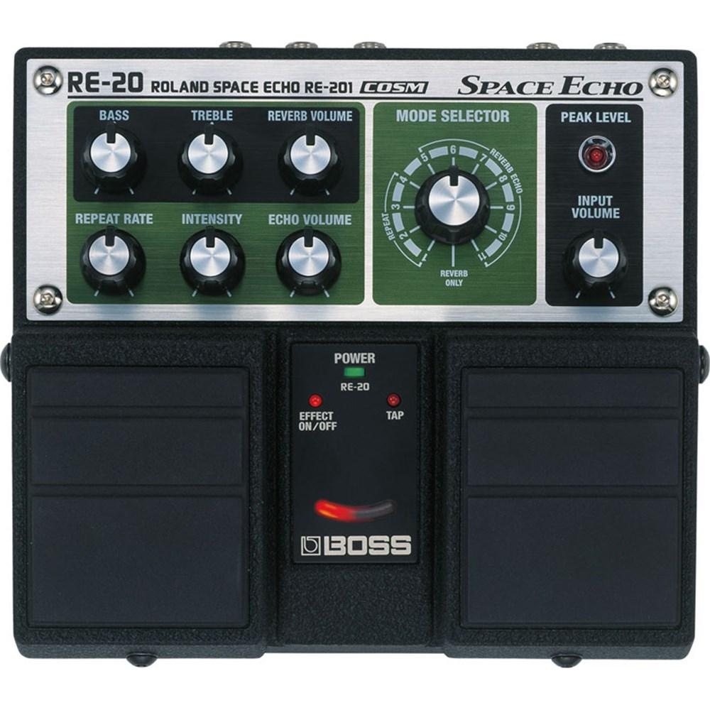 Boss Re 20 : boss re20 space echo twin pedal guitar pedals effects store dj ~ Hamham.info Haus und Dekorationen