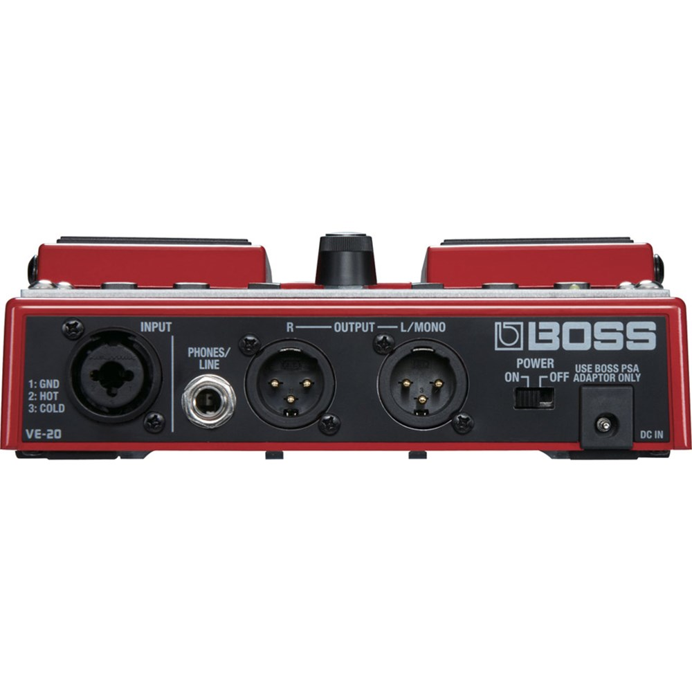 boss ve 20 vocal performer guitar pedals effects store dj. Black Bedroom Furniture Sets. Home Design Ideas