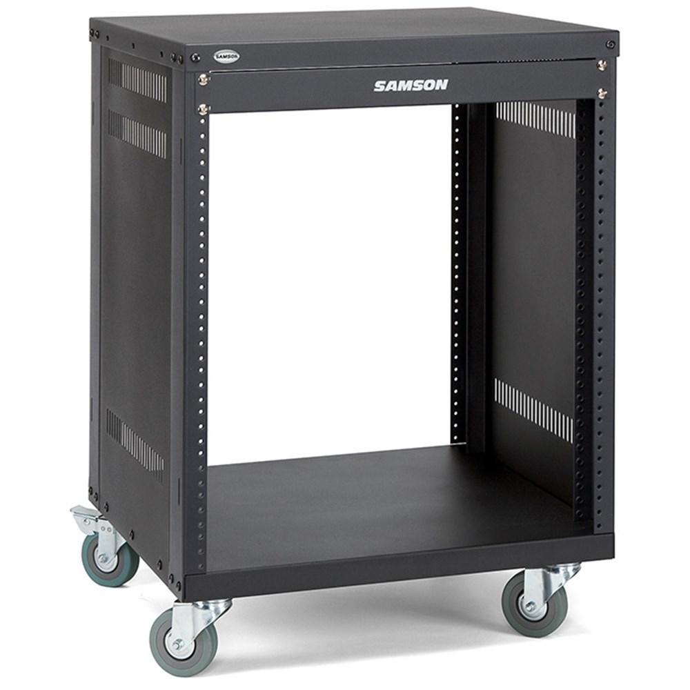 19in Amp Rack Cases Store Dj Road Gear 1 Amplifier Head Cabinet Hitam Samson Srk12 12 Unit Universal Stand W Locking Casters