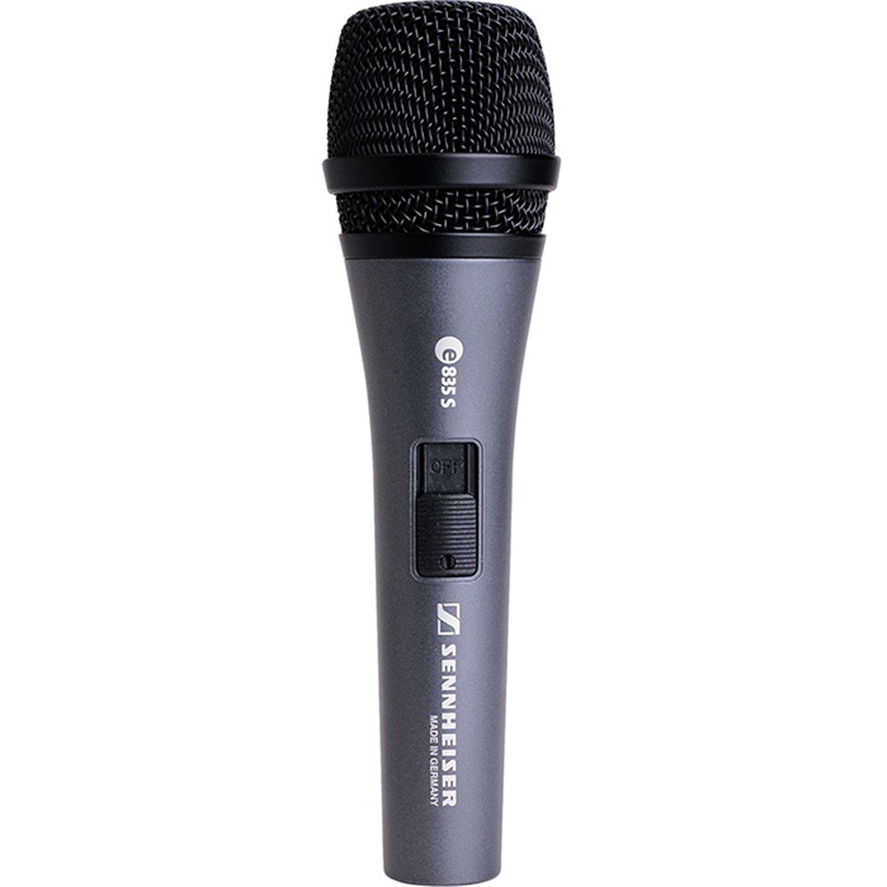 sennheiser e835s dynamic cardioid live vocal microphone w switch dynamic microphones store dj. Black Bedroom Furniture Sets. Home Design Ideas