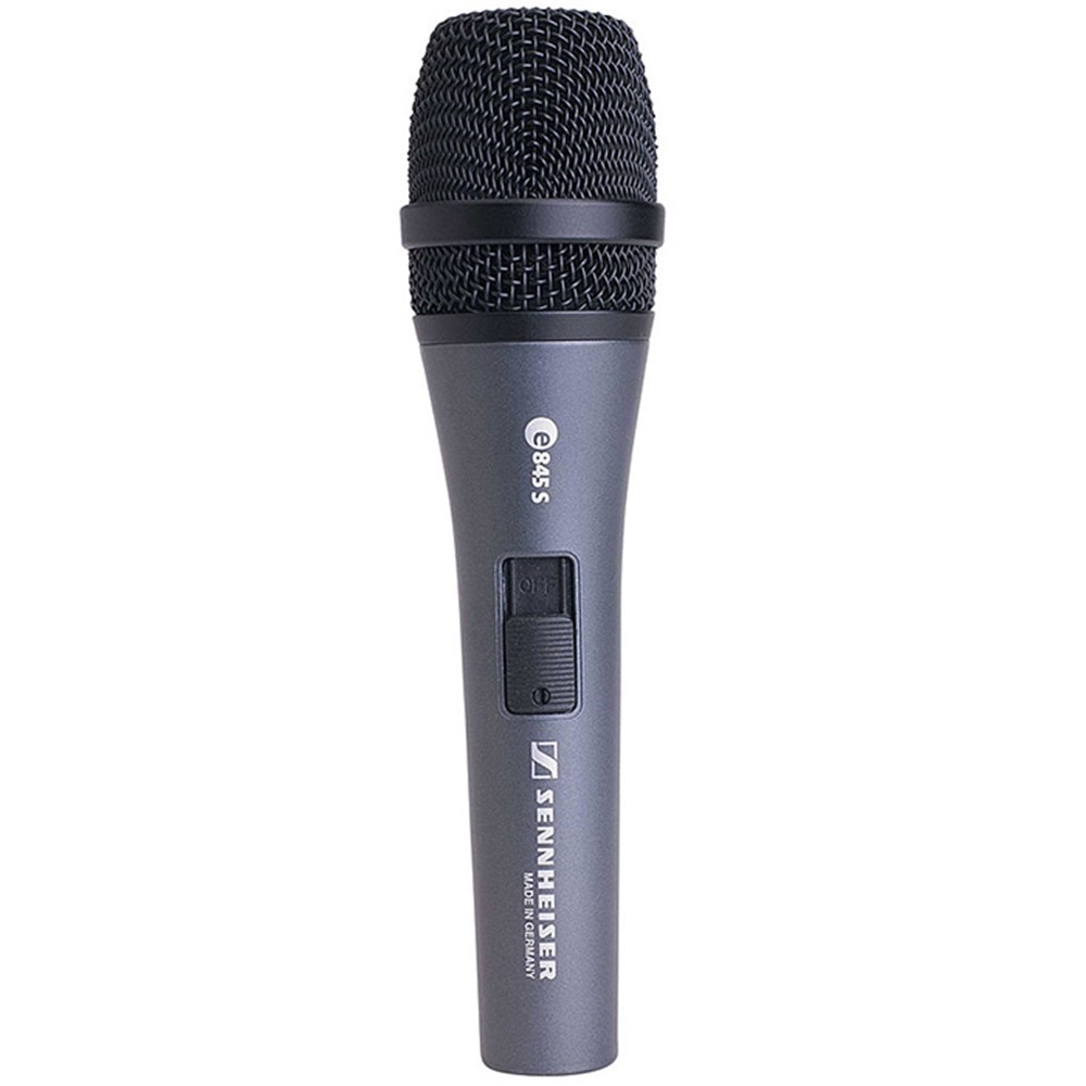 sennheiser e845s dynamic super cardioid live vocal microphone w switch dynamic microphones. Black Bedroom Furniture Sets. Home Design Ideas