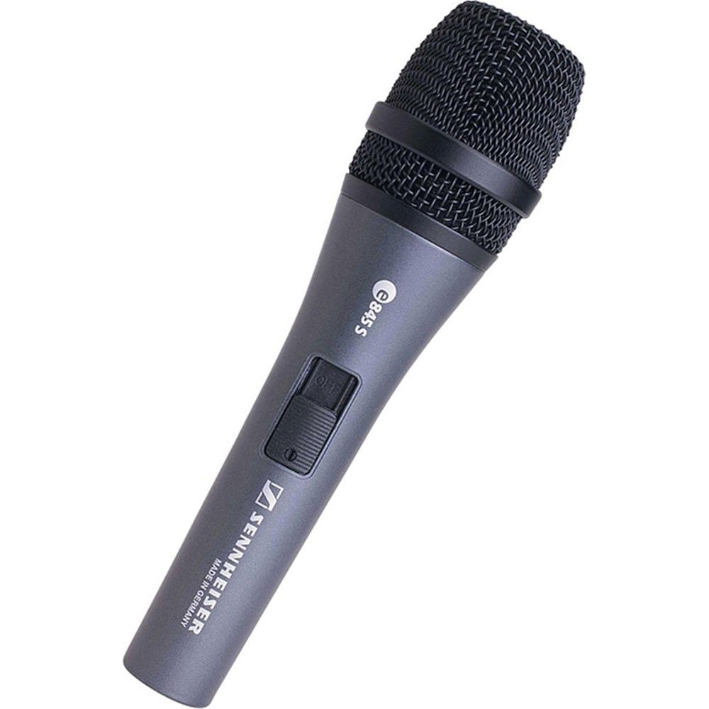 sennheiser e845s dynamic super cardioid live vocal microphone w switch dynamic microphones. Black Bedroom Furniture Sets. Home Design Ideas