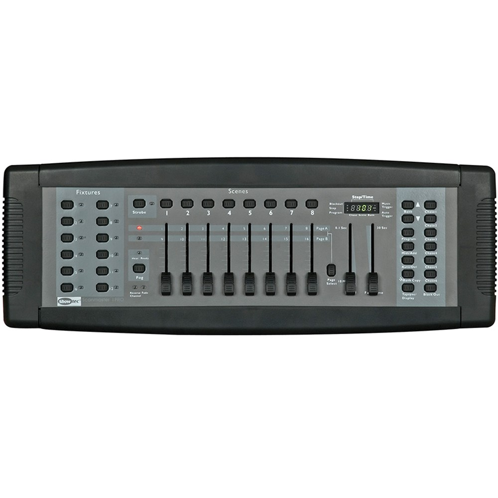 Showtec SM-8/2 Scanmaster DMX Lighting Controller (192