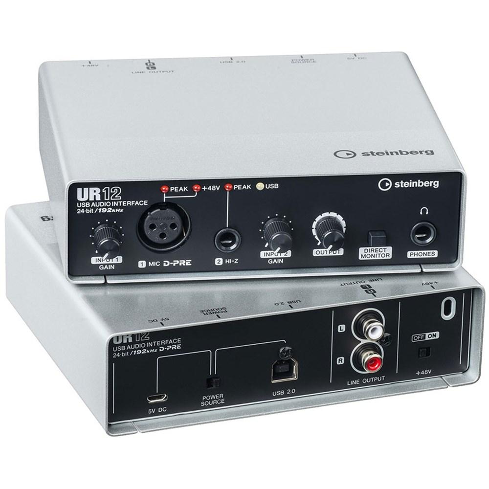 steinberg ur12 audio interface usb ipad usb audio interfaces store dj. Black Bedroom Furniture Sets. Home Design Ideas