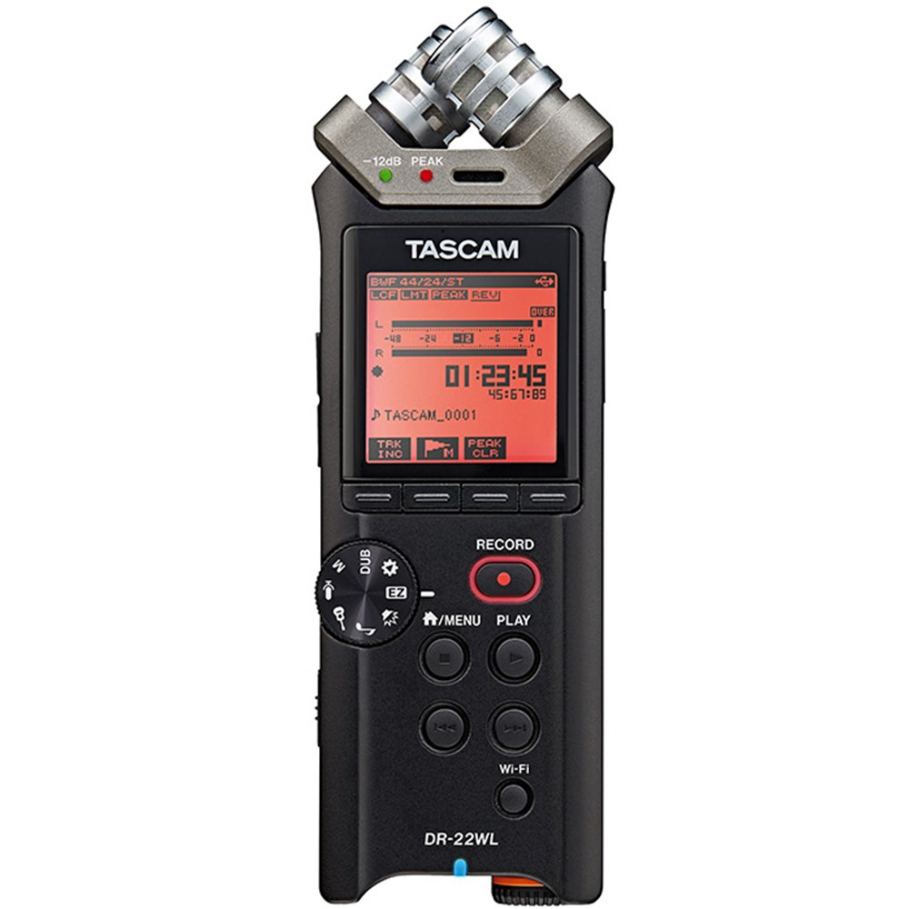 Tascam Dr 22wl Portable Handheld Recorder W Wi Fi Recorders Tas Laptop Massive Series