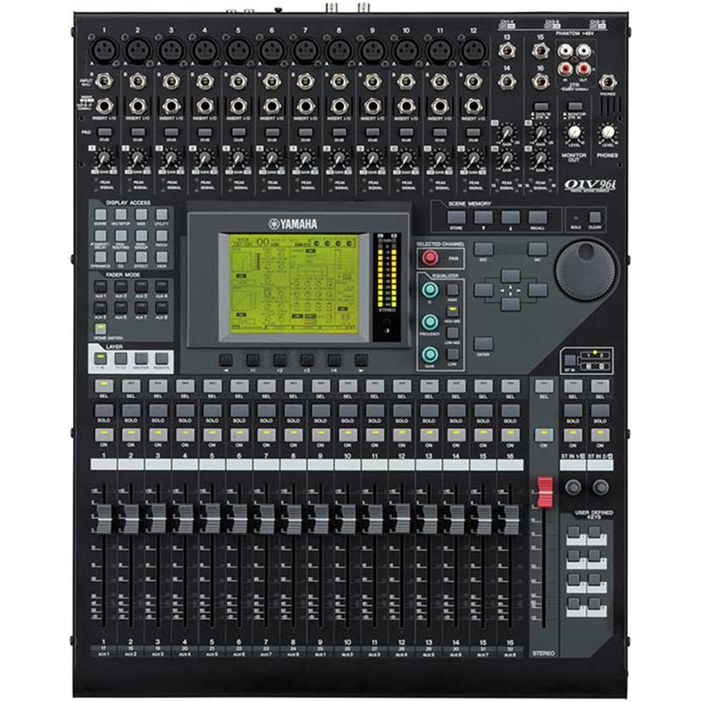 yamaha 01v96i digital mixing console w usb audio interface digital mixers store dj. Black Bedroom Furniture Sets. Home Design Ideas