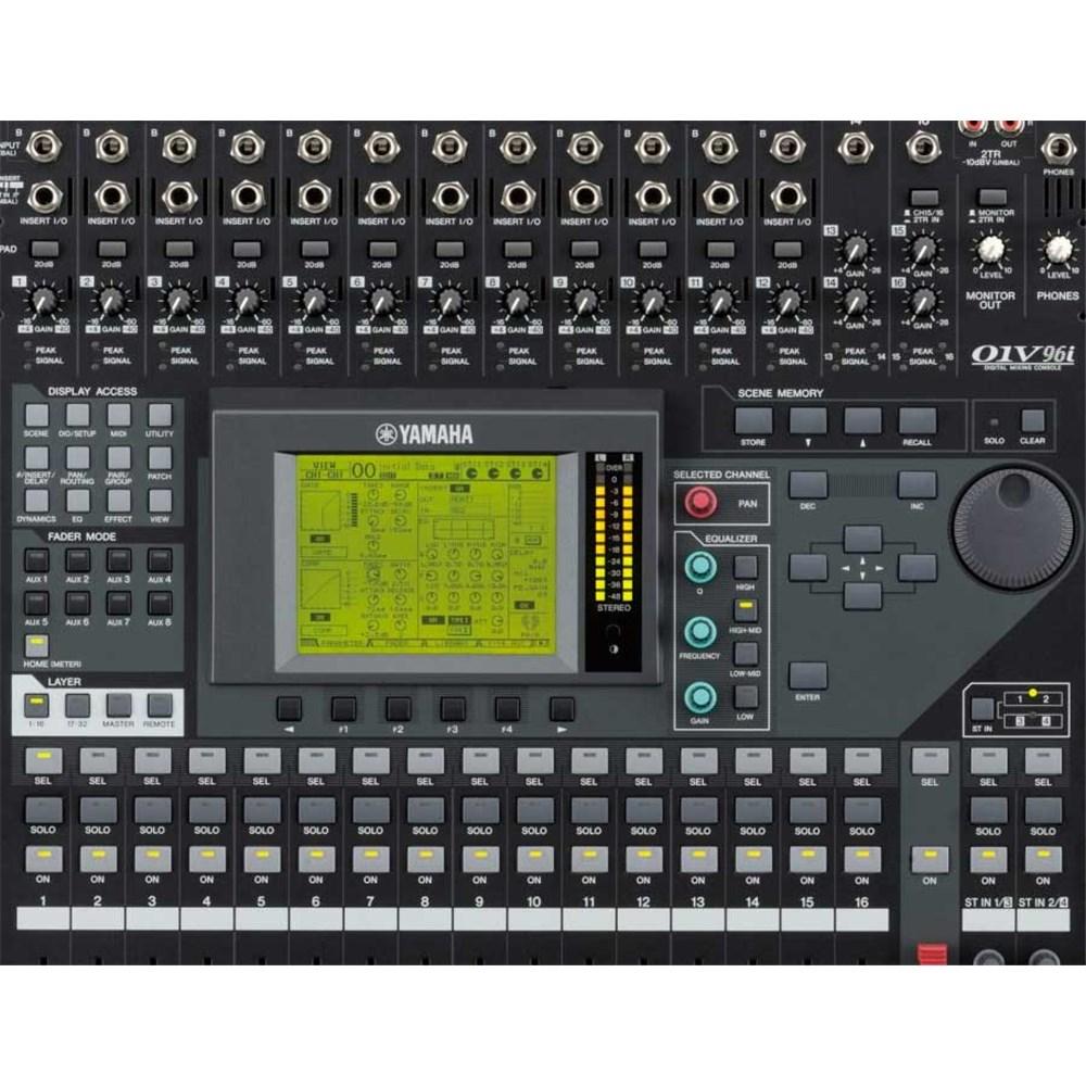Yamaha 01v96i digital mixing console w usb audio for Yamaha sound console