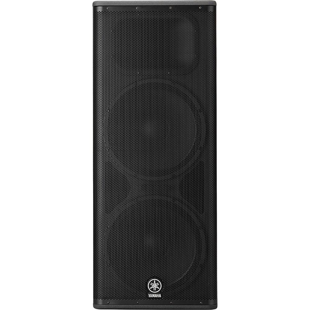 Yamaha dsr215 1300w dual 15 powered pa speaker powered for Yamaha sound dock