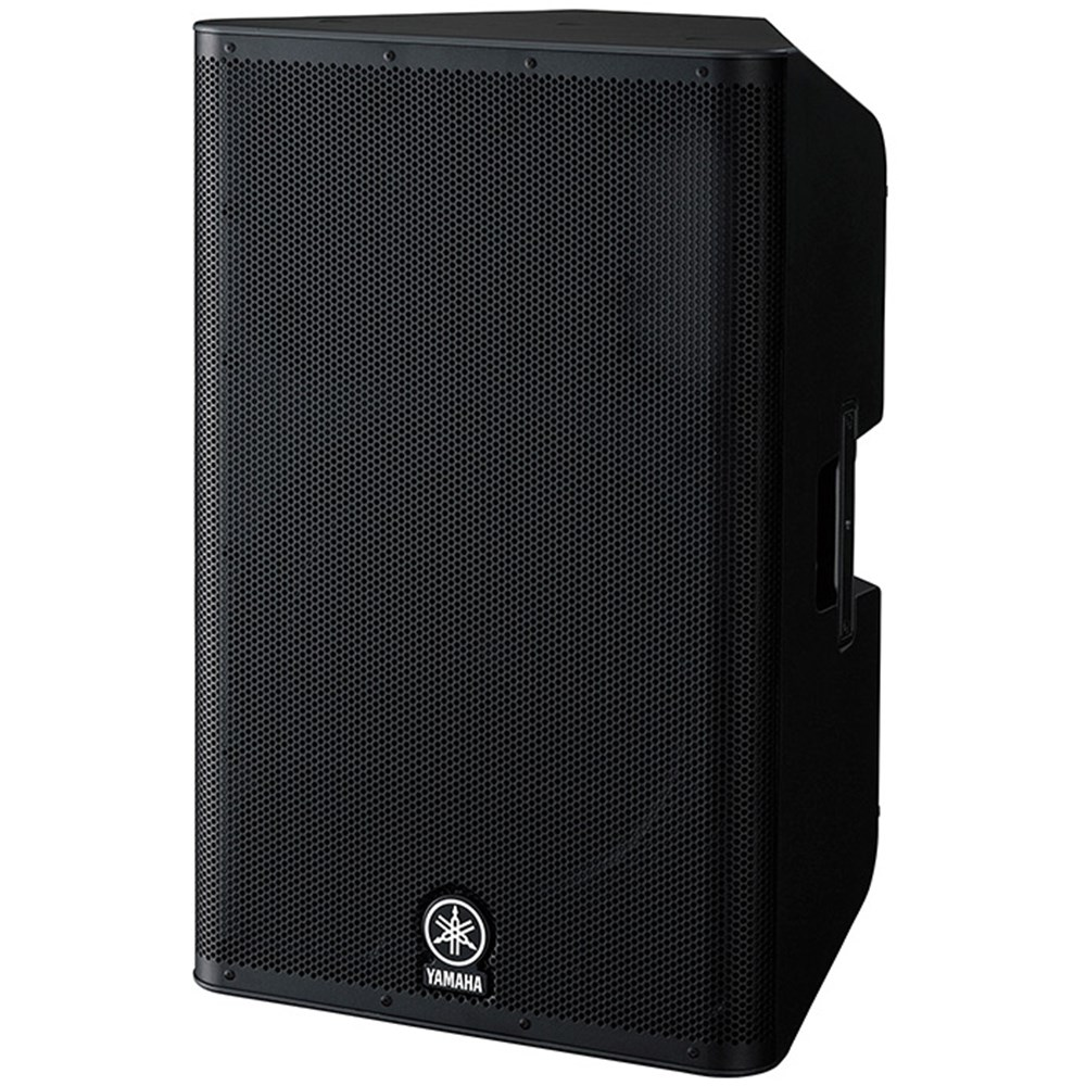 Yamaha dxr15 1100w 15 powered pa speaker powered for Yamaha powered speakers review