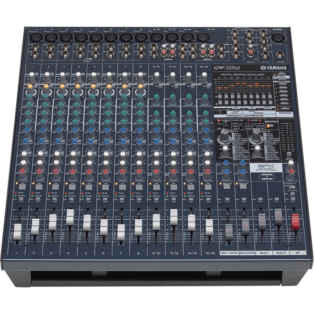 yamaha emx5016cf 16 channel 500w powered mixer powered mixers store dj. Black Bedroom Furniture Sets. Home Design Ideas