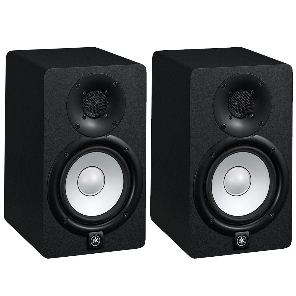 Yamaha hs5 5 active studio monitors pair active for Yamaha powered monitor speakers