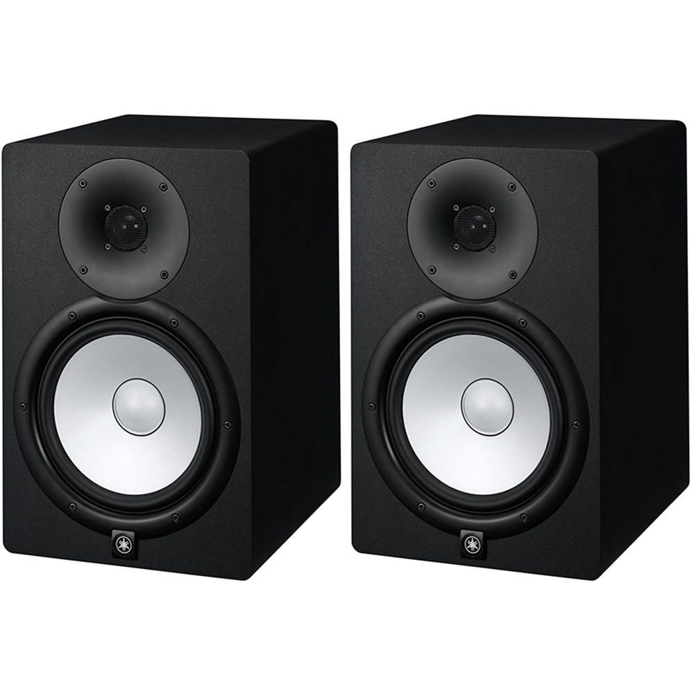Yamaha hs8 8 active studio monitors pair active for Yamaha powered monitor speakers