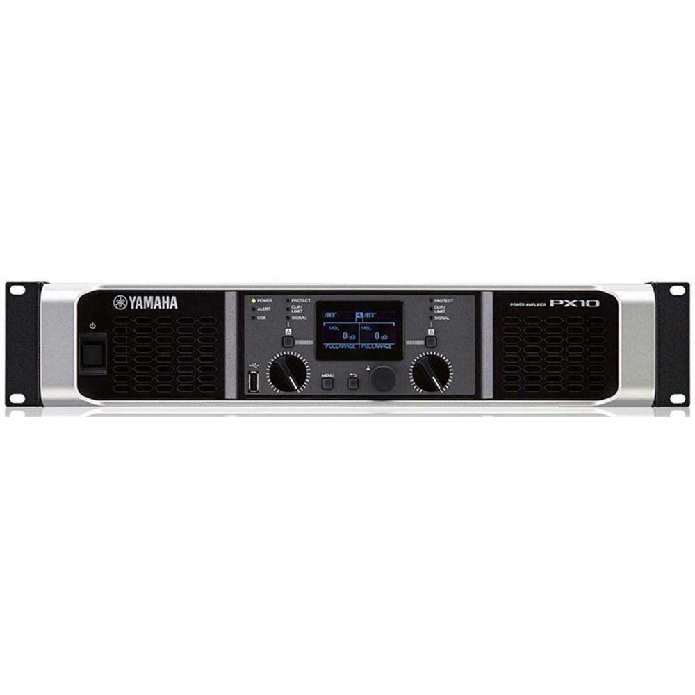 Yamaha Px10 Versatile High Output Power Amplifier W Dsp 2x 1000w