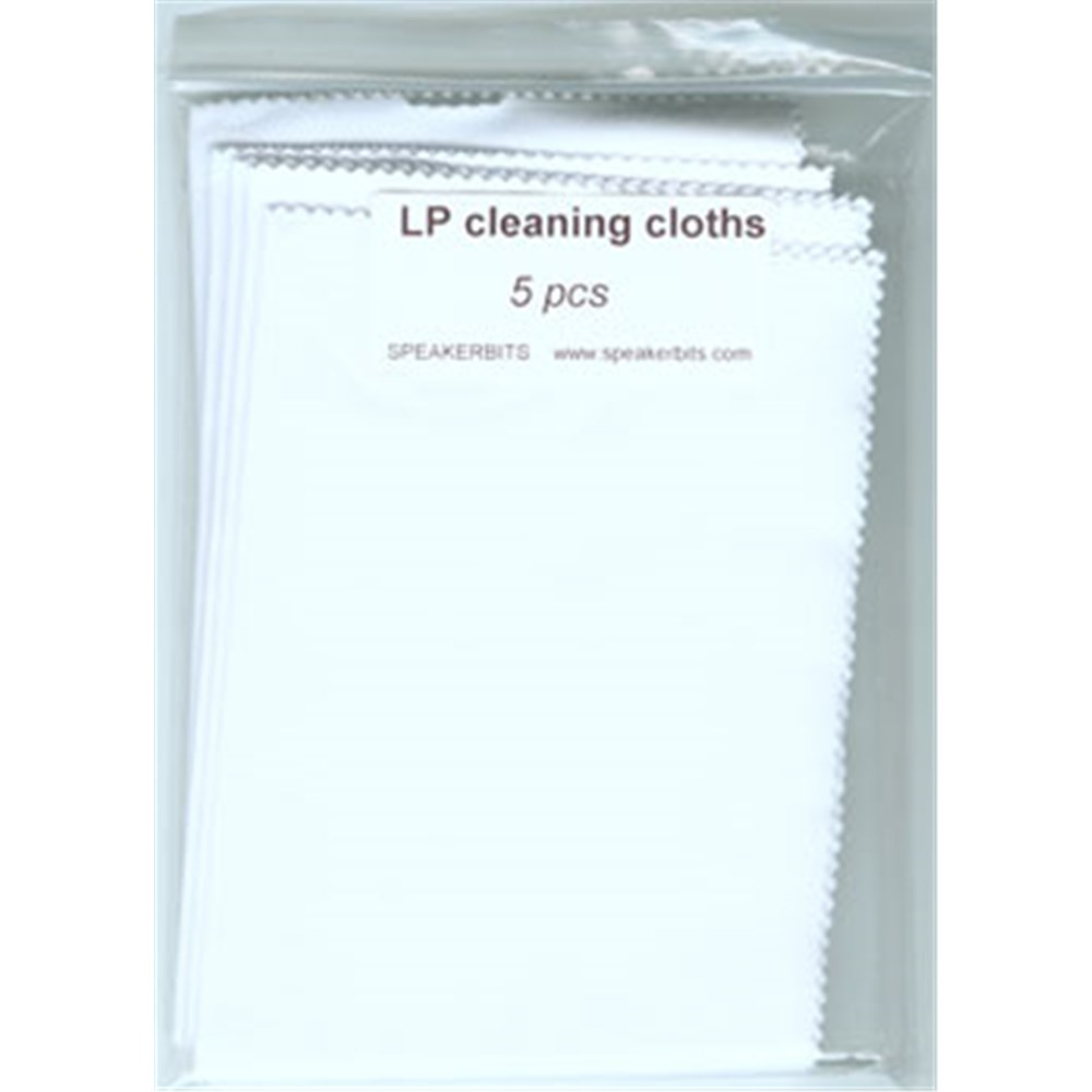 5 Pack Record Cleaning Cloths