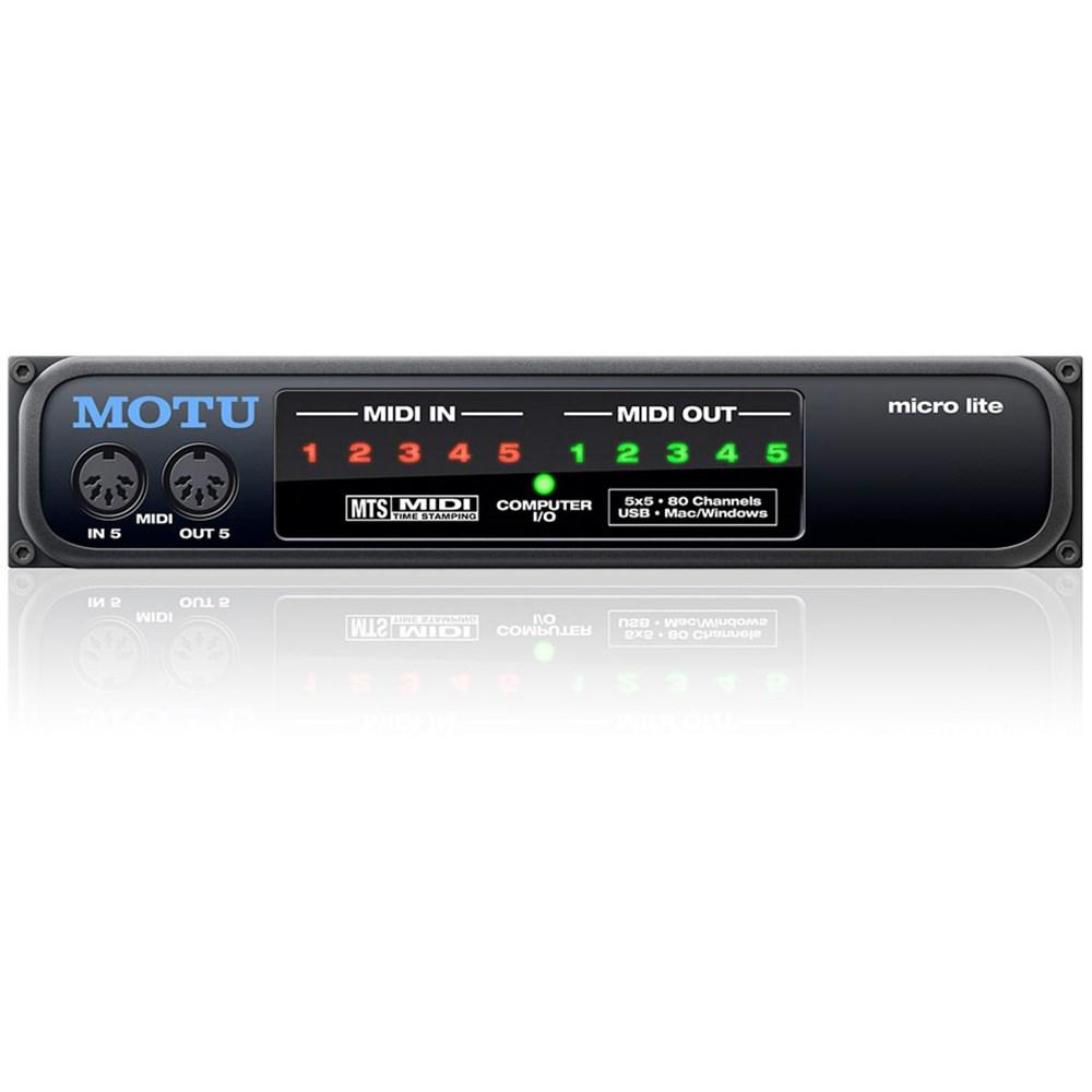 Motu Micro Express Usb Motu Micro Lite 5x5 Usb Midi