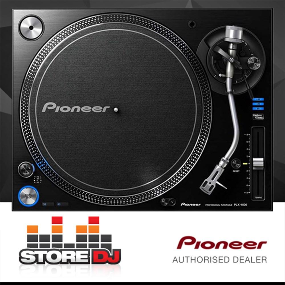 pioneer plx 1000 professional turntable no cartridge turntables store dj. Black Bedroom Furniture Sets. Home Design Ideas