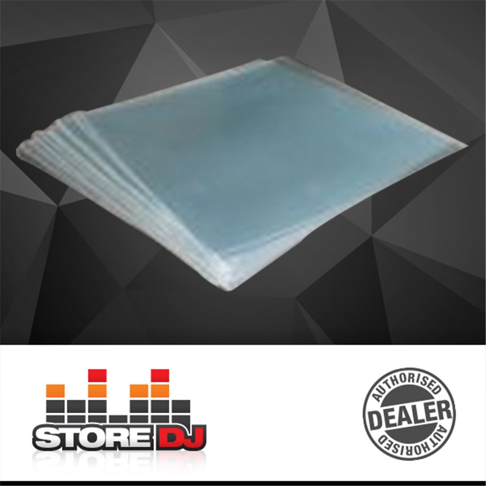 Clear Plastic 12inch Sleeves (Pack of 100)