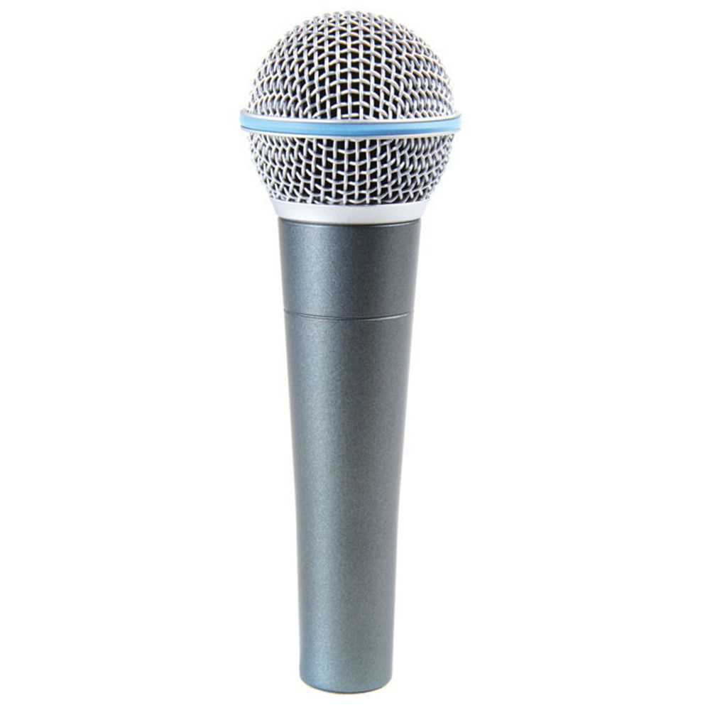 shure beta 58a dynamic vocal microphone dynamic microphones store dj. Black Bedroom Furniture Sets. Home Design Ideas